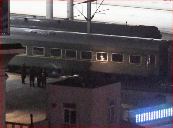 朝鲜官媒承认金正恩乘火车前往越南