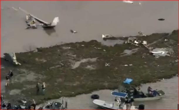 載有亞馬遜貨櫃貨機德州墜毀