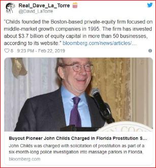 """波士顿""""扫黄"""" 扫出第二位亿万富豪"""