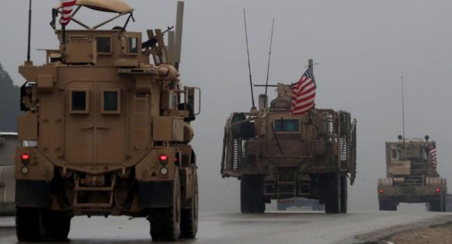 美军连夜从叙利亚运走50吨黄金