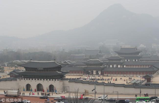 北京好像没这么多  韩重度雾霾怪中国