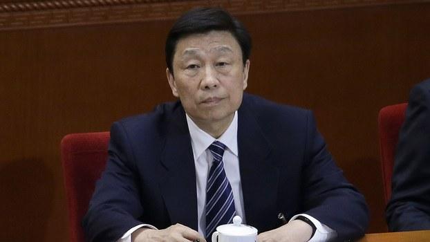 中国前国家副主席李源潮。(美联社)