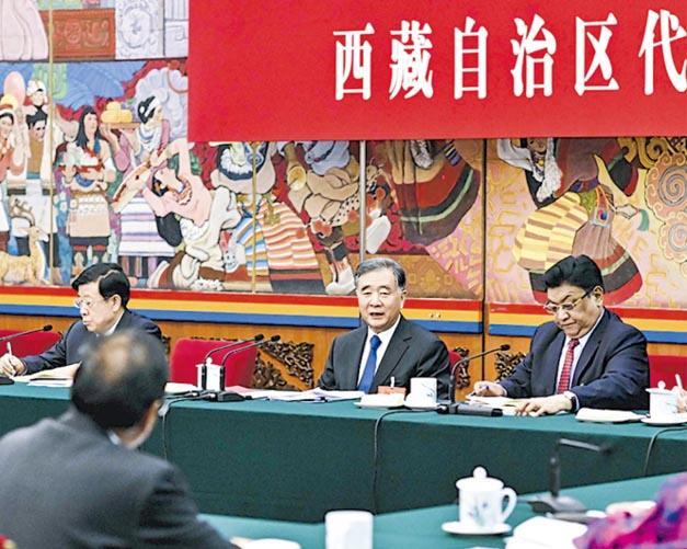 汪洋要求西藏    进一步加强寺庙管理
