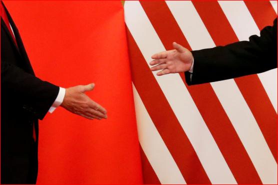 中美贸易战 一手对两手
