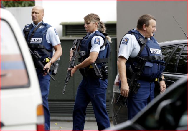 36分钟逮住枪手 小镇2警察让新西兰骄傲