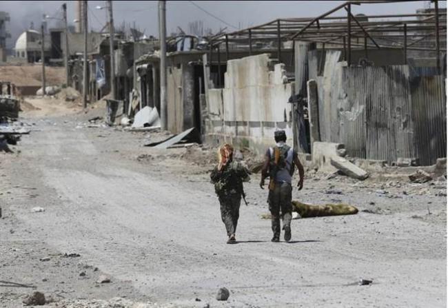 美国宣布   IS在叙利亚已没有任何领土
