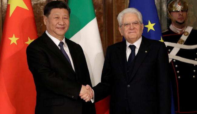 意大利成首个加入中国一带一路的G7国家