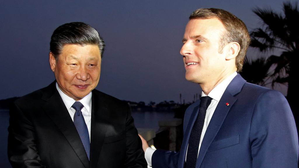 """习近平访法 马克龙试控制中国""""胃口"""""""