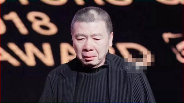 疑回应崔永元风波 冯小刚台上哽咽落泪
