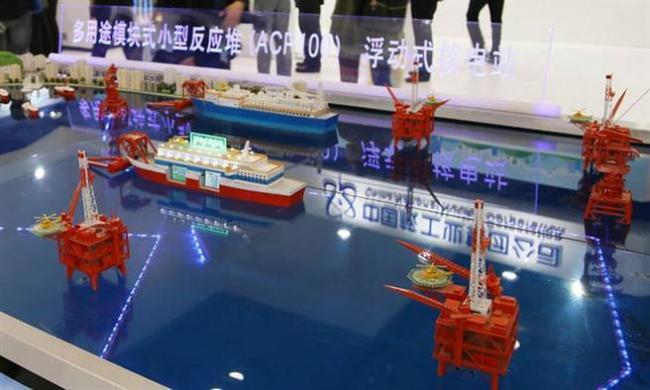 中国今年建浮动核电厂 为南海岛礁供电