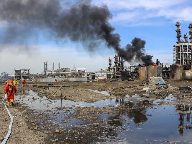 江苏盐城决定关闭响水化工园区