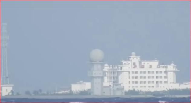 越南记者海上偷拍中国南沙东门岛