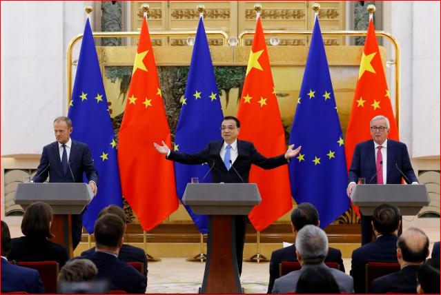 欧盟趁火打劫 中共贸易战步步退败