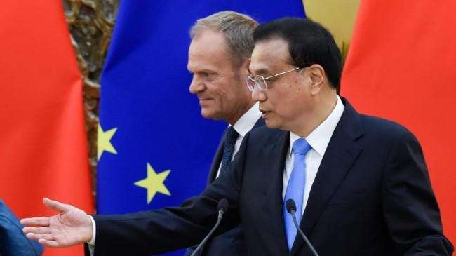 中欧峰会秘闻:欧盟主席当面呛声李克强