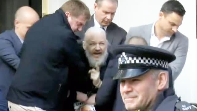 阿桑奇被捕时带走这本书    在法庭上看