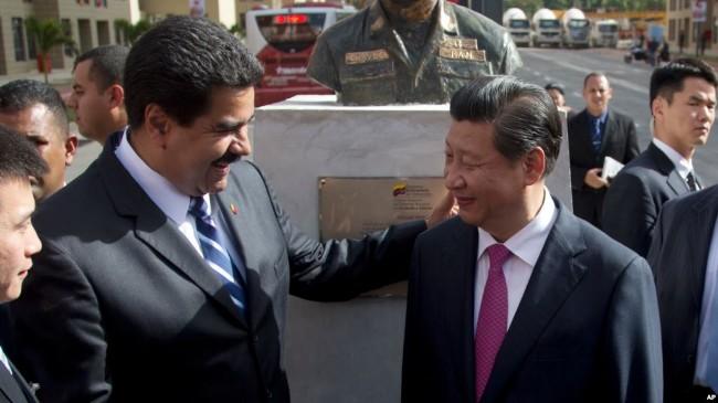 中国支持委内瑞拉   美国高度警惕