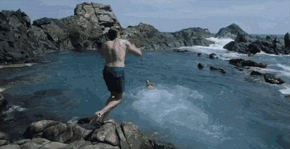 天然泳池被誉为是全美洲最美丽之处。
