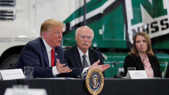 特朗普放言:无论如何 我们都会赢得贸易战
