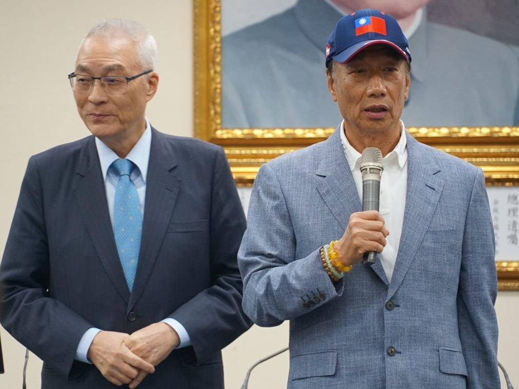 郭台铭高调参选 国民党为何反应冷淡