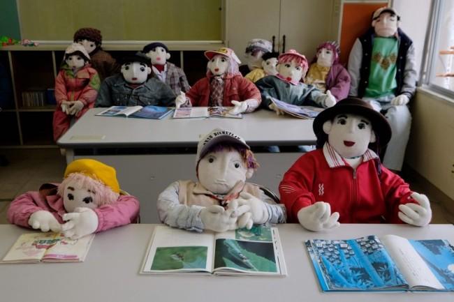 日本娃娃谷 这里的村民几乎都是人偶