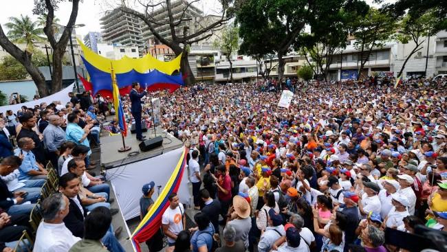 委内瑞拉:瓜伊多筹划五一大游行