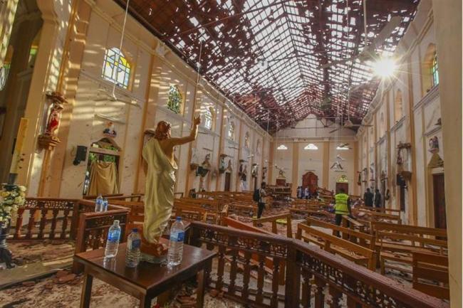 斯里兰卡爆炸案   10天前曾有警告