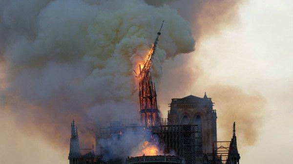巴黎圣母院 法国 火灾