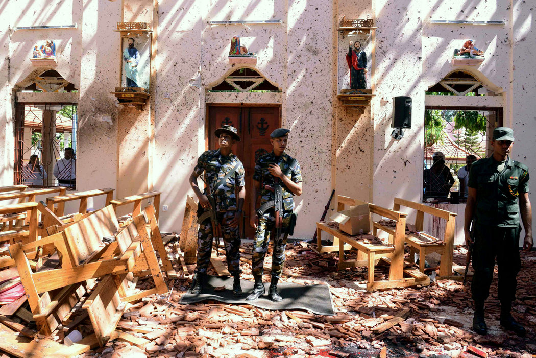 斯里兰卡爆炸案是对新西兰枪击案报复
