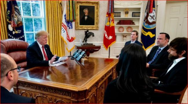 抱怨遭到歧视  川普闭门会见这位CEO
