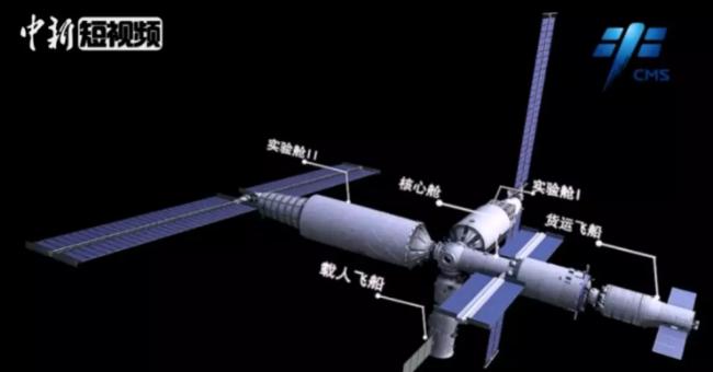 """中国空间站计划表出炉 """"天宫""""将建成"""