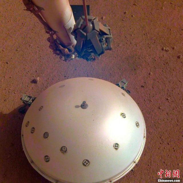 """火星也有""""地震""""  人类首次发现"""
