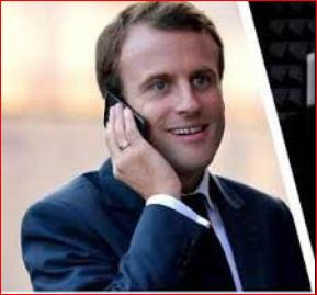 国际玩笑!法国总统马克龙惨遭捉弄