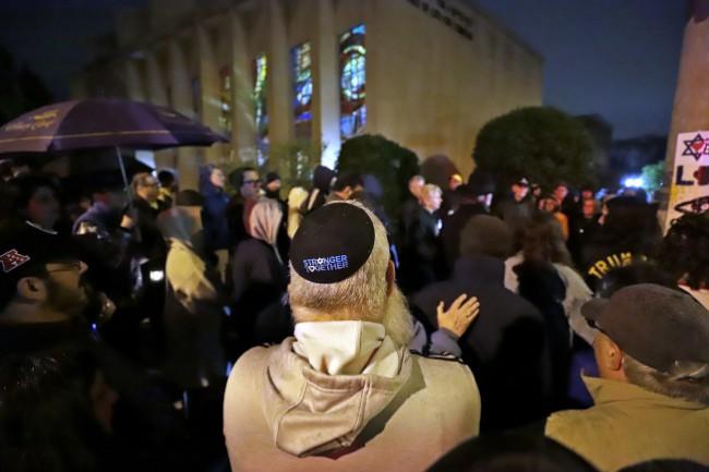美国仇恨犹太事件   去年激增