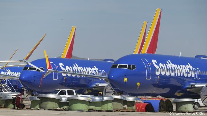 Los Angeles, Kalifornien, USA - Southwest Airlines Boeing 737 (picture-alliance/R. Chiu)