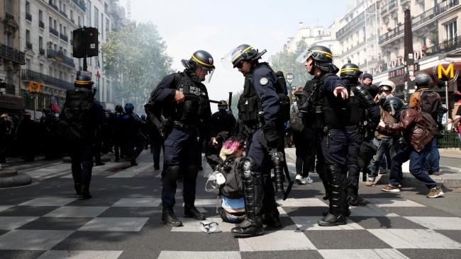 5.1大游行 黄背心酝酿暴力 巴黎高度戒备