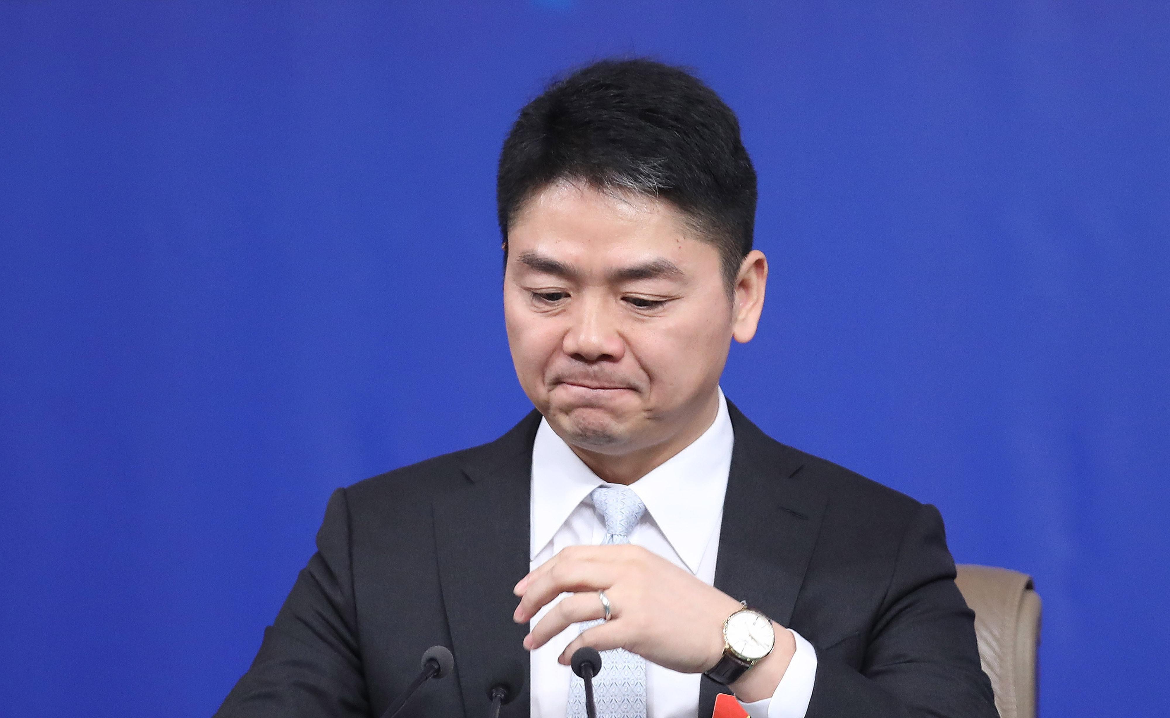 刘强东案新录音 女方抽泣:我只是个学生