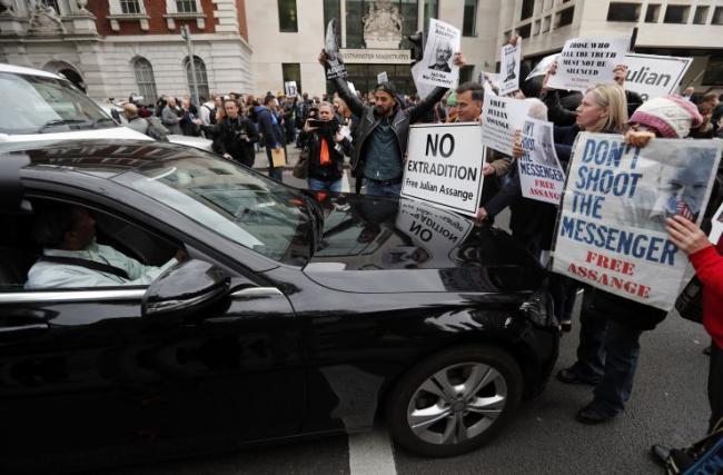 阿桑奇拒美国引渡:泄密是要保护民众