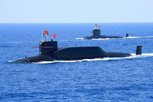 美国忌惮中国核潜艇  密切追踪