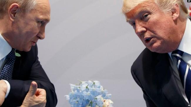 川普称与普京讨论新核武条约或包括中国