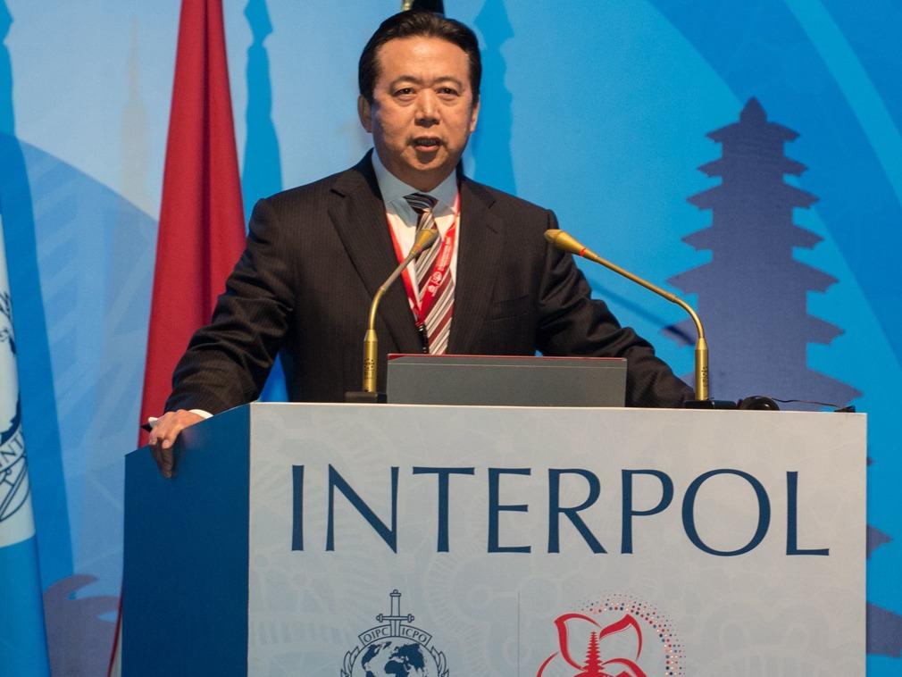 美媒:孟宏伟曾打算任期结束后离开中国