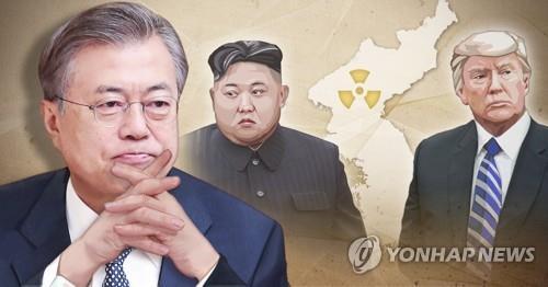 文在寅执政2年  朝鲜半岛大势转暖