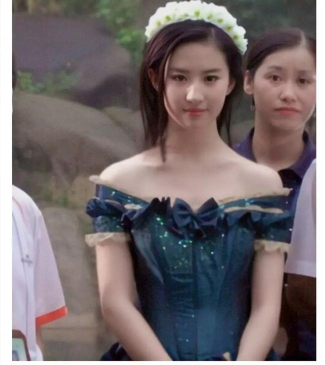 刘亦菲这套旧照简直小公主本人