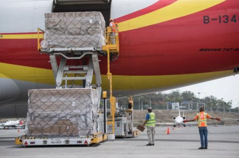 关键时刻  一架中国货机抵达委内瑞拉