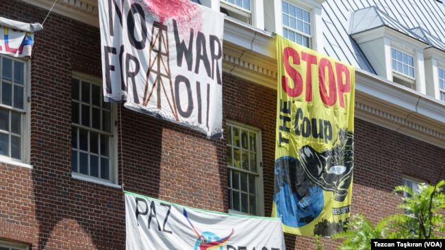 被占领数周后 美国重夺委内瑞拉大使馆