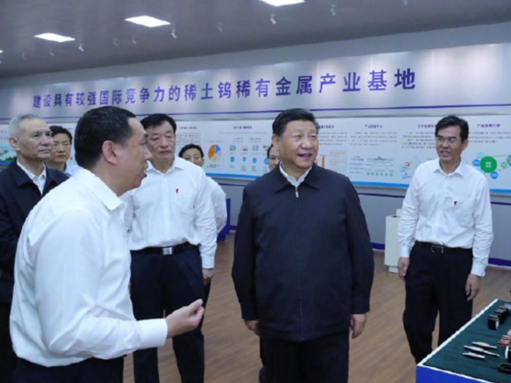习近平考察稀土企业 概念股暴涨