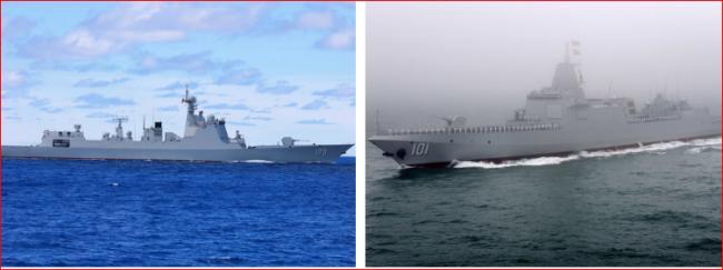 中国海军4艘驱逐舰集体退役不寻常