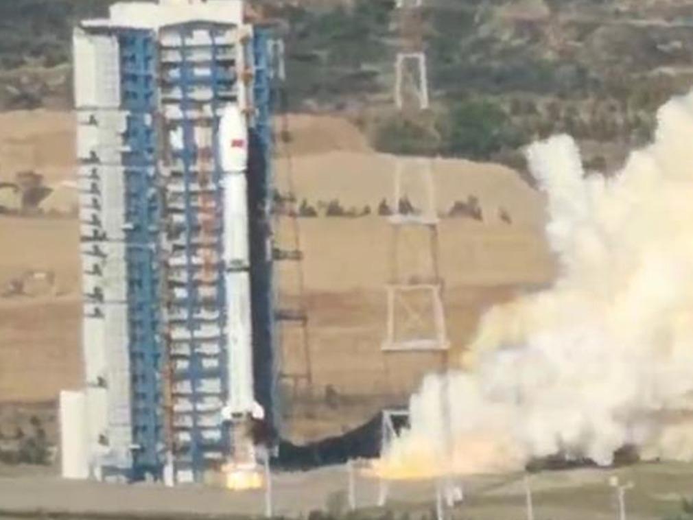 中国最新遥感卫星发射失败 现场照曝光