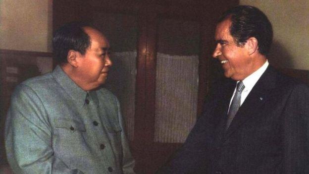 从尼克松毛泽东到川普习近平:中美缘尽