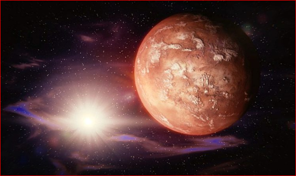 火星真有生命?北极下方有新发现