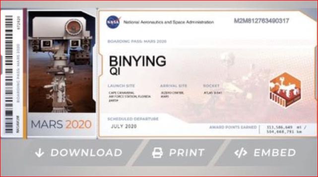 明年登火星 华人抢报名
